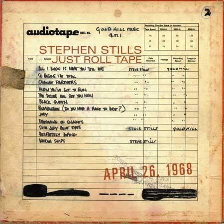 8122799297 Rhino  Stephen Stills Just Roll Tape - April 26th 1968 (LP)